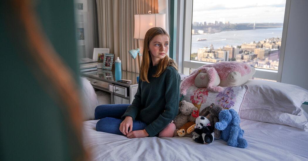 At 12, She's a Covid 'Long Hauler'
