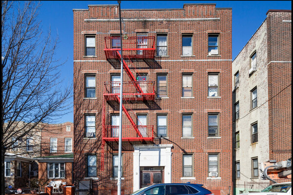 This apartment building in Woodside, Queens, last changed hands more than 25 years ago.