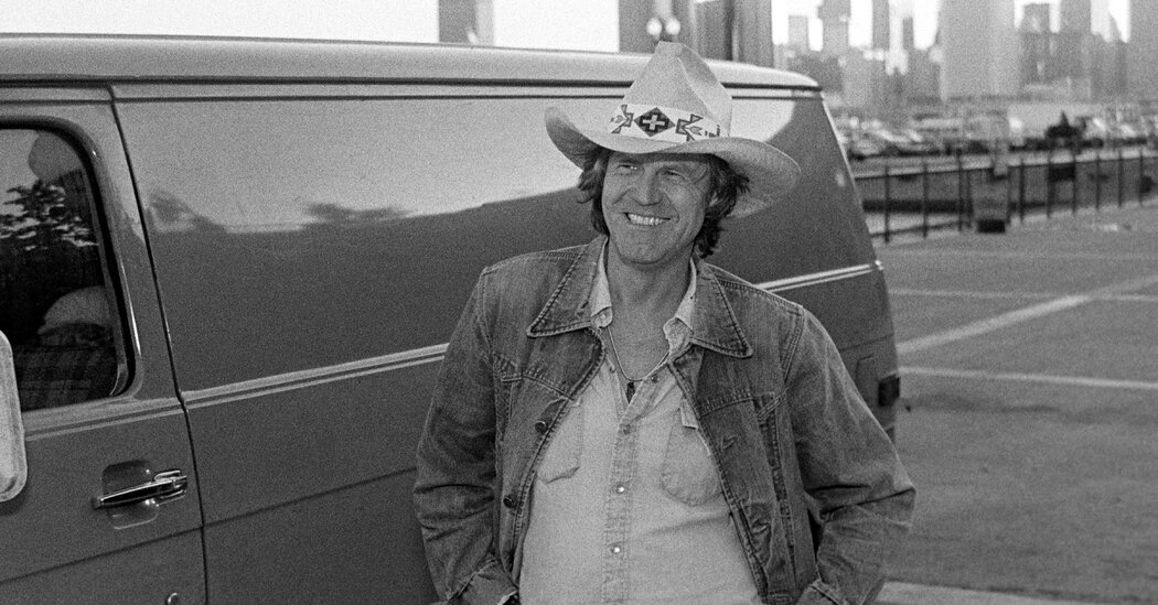 Billy Joe Shaver, Outlaw Singer and Songwriter, Dies at 81