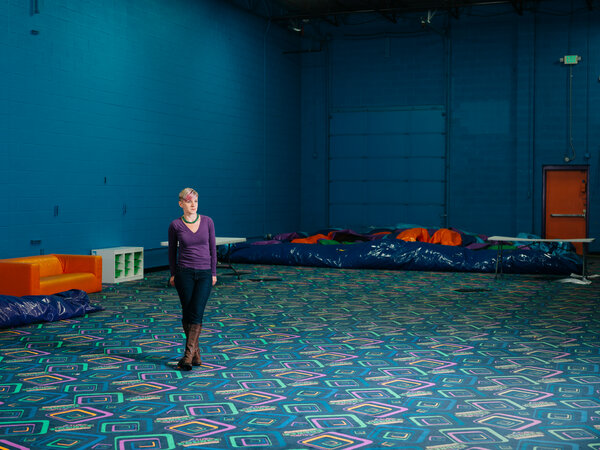 Becky Cooper is the owner of Bounce Milwaukee.She shuttered the amusement center in March and has yet to reopen.