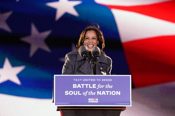 La senadora por California Kamala Haris será la primera mujer vicepresidenta de Estados Unidos.