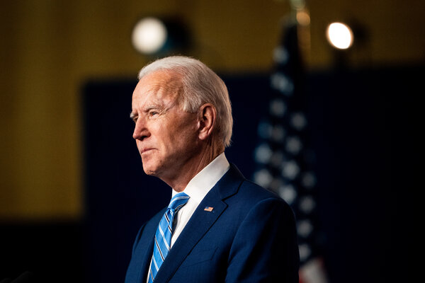 Joseph R. Biden Jr. was elected president on his third try, after an extraordinary race in which he campaigned as an elder statesman seeking to restore civility to the nation.