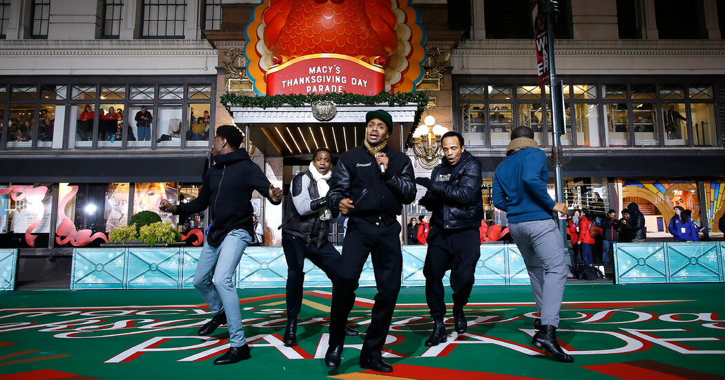 Macy's Thanksgiving Day Parade Revives Broadway for a Day