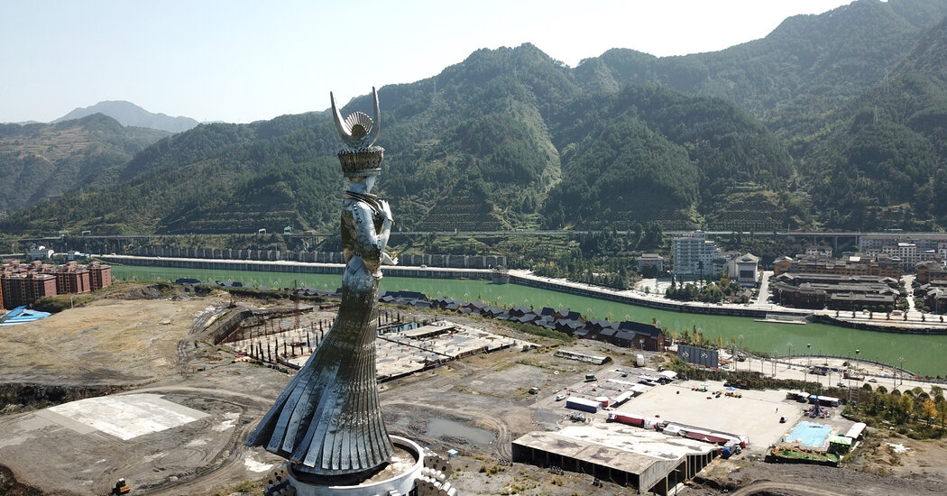 Chinese Statue to Goddess of Beauty Sparks Debate