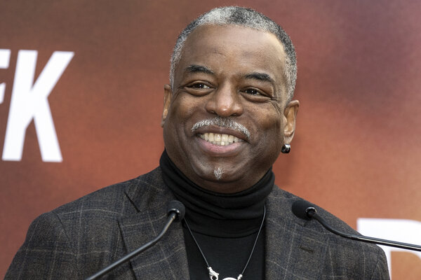 """LeVar Burton is best known for his role as Geordi La Forge on """"Star Trek: The Next Generation"""" and for hosting the PBS educational show """"Reading Rainbow."""""""