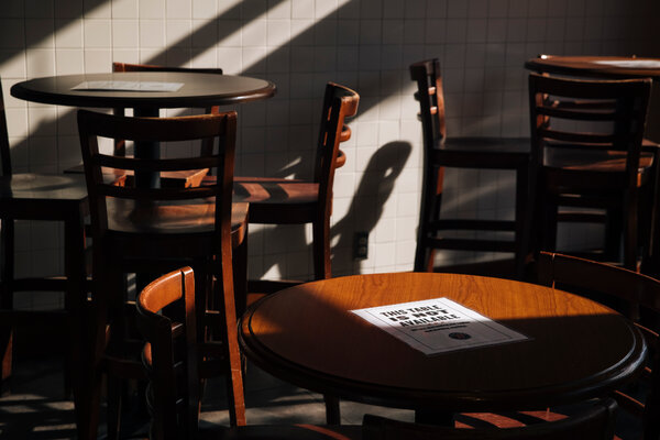 Restaurants, gyms, cafes and other crowded indoor venues accounted for some 8 in 10 new coronavirus infections in the early months of the U.S. epidemic, according to a news analysis.