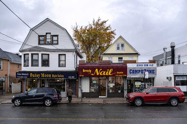 The owner of Beverly Nail Studio in Flushing moved to New York from South Korea 30 years ago.