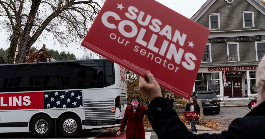 The Democrats Went All Out Against Susan Collins. Rural Maine Grimaced.