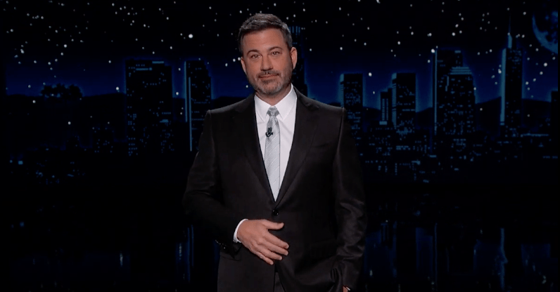 Jimmy Kimmel Has a Name for Trump's Refusal to Concede: 'Squattergate'