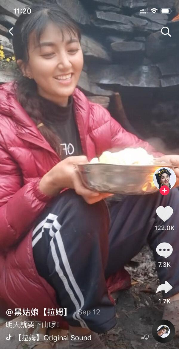 On Sept. 12, two days before the attack that would kill her, Lhamo posted a video saying she was coming home.