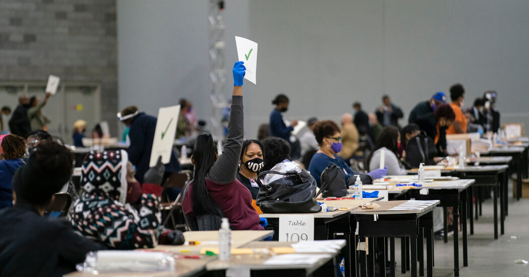 As Tensions Among Republicans Mount, Georgia's Recount Proceeds Smoothly