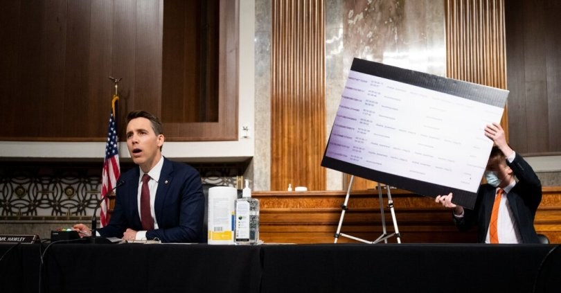 Lawmakers drill down on how Facebook and Twitter moderate content.