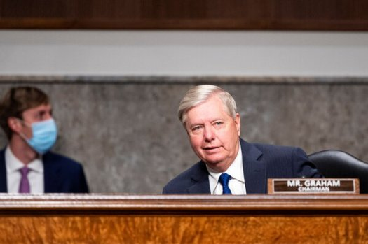 Lindsey Graham, chairman of the Senate Judiciary Committee.
