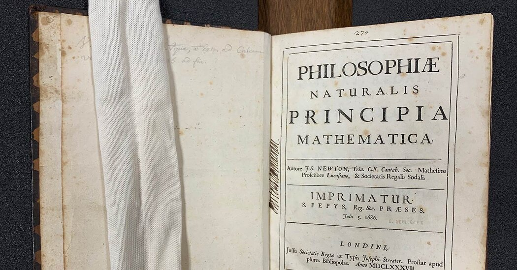Newton's 'Principia' Had a Surprisingly Wide Audience, Historians Find