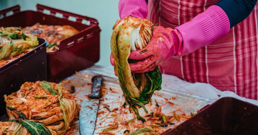 Kimchi Making at Home Was Going Out of Style. Rural Towns to the Rescue.