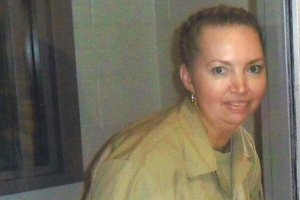 Lisa Montgomery was scheduled to be executed next month.