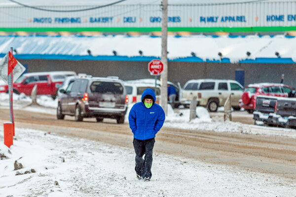 Nunavut entered a two-week mandatory restriction period to curb the spread of the coronavirus.