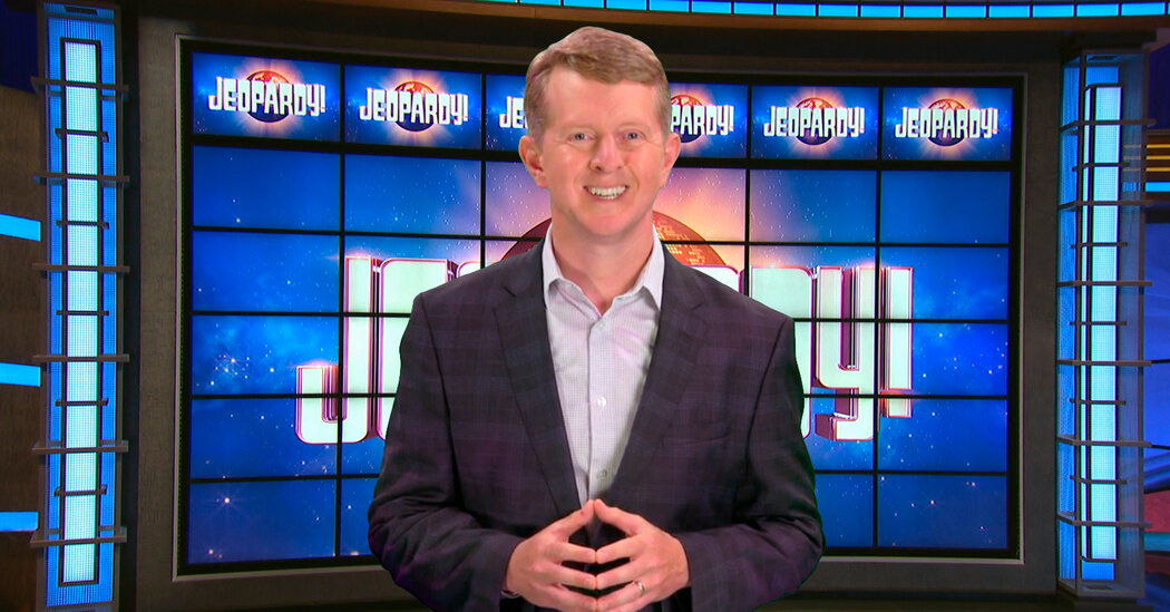 This 'Jeopardy!' Champ Will Temporarily Succeed Alex Trebek