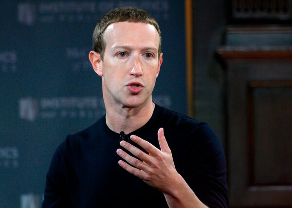 Facebook chief Mark Zuckerberg and employees differ on some matters of disinformation.