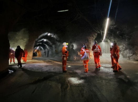 Inside the Codelco El Teniente copper mine in Chile. Copper prices hit a six-year high, driven by prospects of a global economic recovery and concerns over supplies.