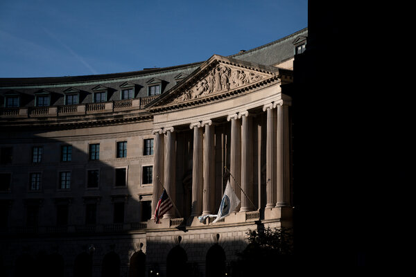 The Environmental Protection Agency headquarters in Washington, DC.