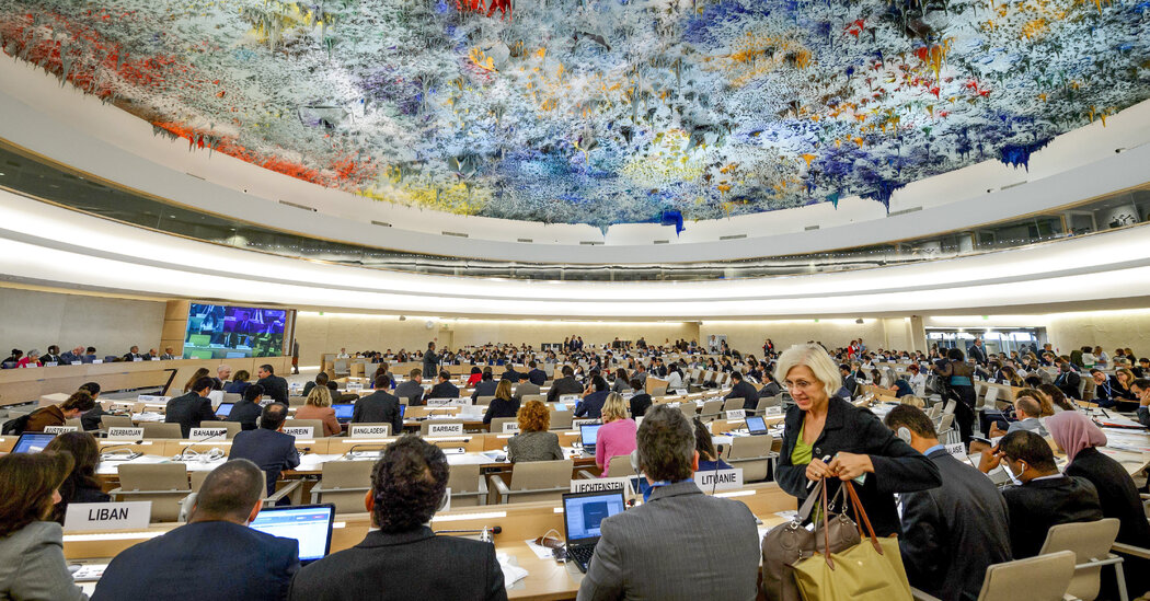 Leadership of U.N. Human Rights Body Becomes Proxy Battle for World Powers