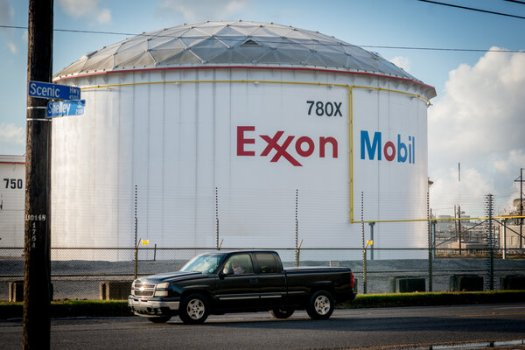 An ExxonMobil refinery in Baton Rouge, La.The company said it was removing gas projects from its plans in Appalachia, the Rocky Mountains, Oklahoma, Texas, Louisiana, Arkansas, Canada and Argentina.