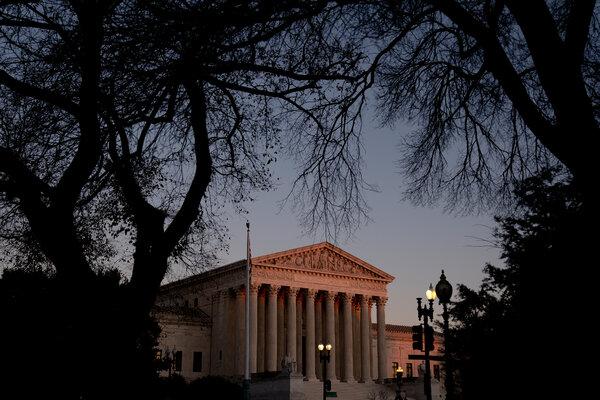 The Supreme Court in Washington on Saturday.