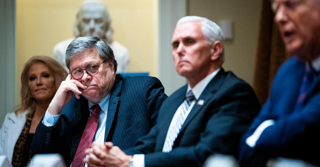 No, Barr was not part of a secret plot against President Trump.