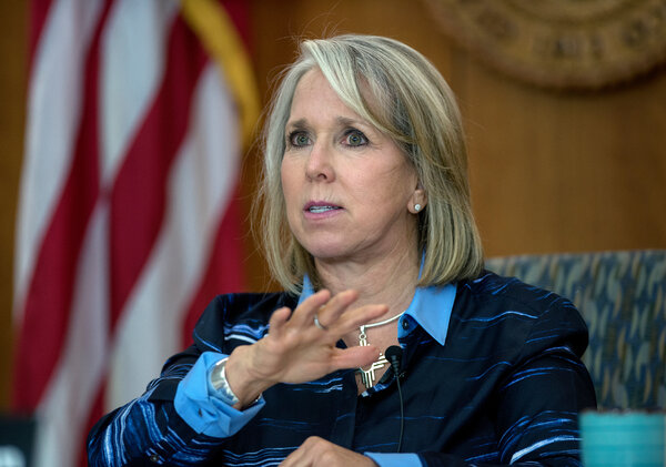 Gov. Michelle Lujan Grisham of New Mexico, according to an A.P. article Wednesday, had been offered and turned down the position of Interior secretary.