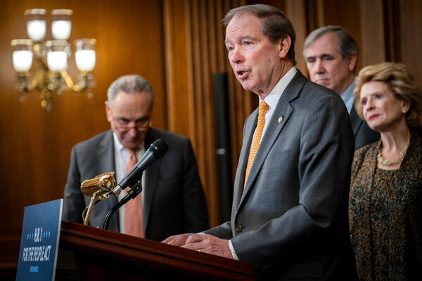 Senator Tom Udall said he feared for the next four years as he sees Republicans digging in against the new administration as they did against President Barack Obama beginning in 2009.