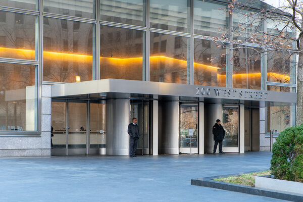 Goldman Sachs's headquarters in Manhattan. Remote working during the pandemic has persuaded many companies to shift operations to lower-cost locations.
