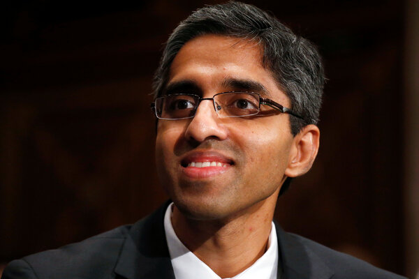 President-elect Biden does not intend to designate Dr. Vivek Murthy, his choice for surgeon general, to be a member of his cabinet.