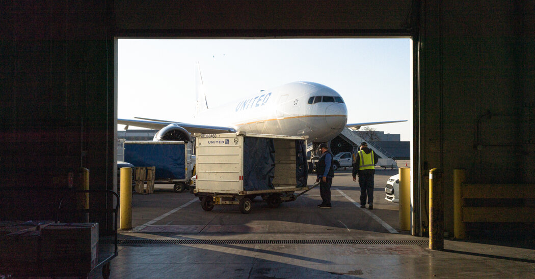 Airlines Gear Up to Transport Vaccines That Could Revive Travel
