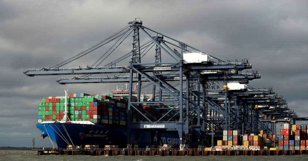 Britain's Ports Are Jammed, and Brexit Is Around Corner