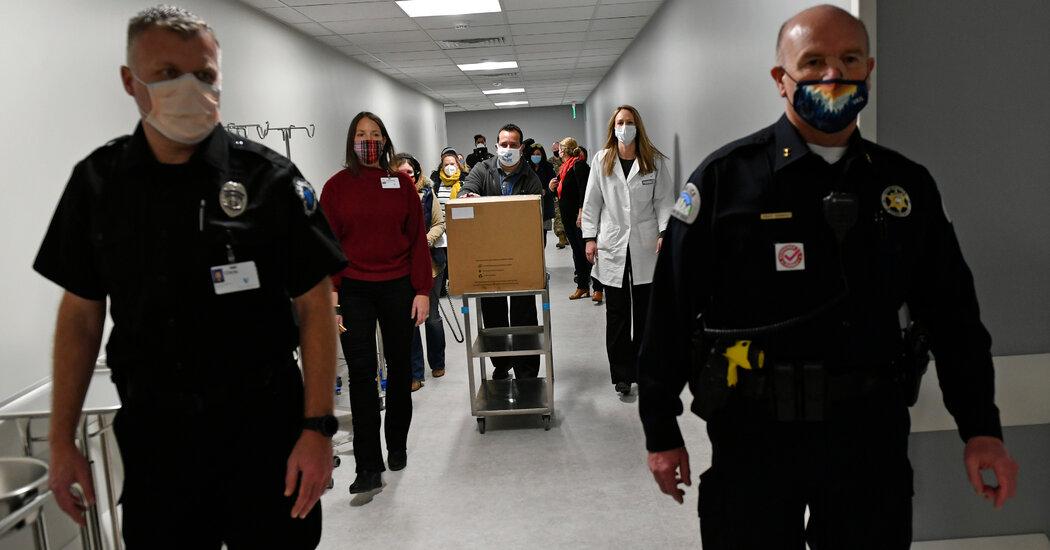 First Coronavirus Vaccines to Head to States, Starting Historic Effort