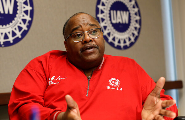 Rory Gamble, the president of the United Automobile Workers union, which agreed on changes meant to root out corruption at the union.