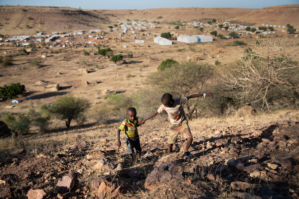 More than 19,000 refugees who have fled the offensive in the Tigray region are housed in Um Rakuba, Sudan, about 43 miles from the border with Ethiopia.