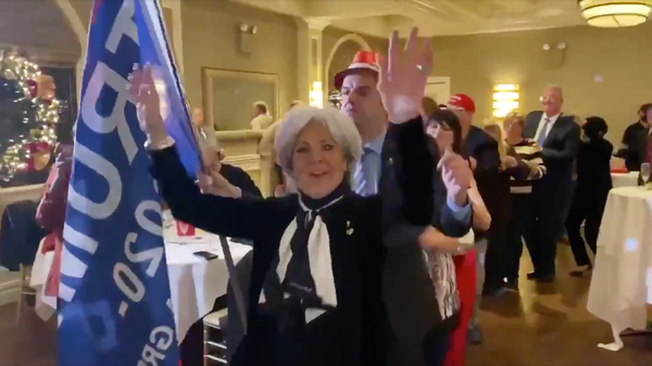 Video of the Whitestone Republican Club's holiday party circulated on social media this past week. The Dec. 9 party was held at Il Bacco, an Italian restaurant in Little Neck, Queens.