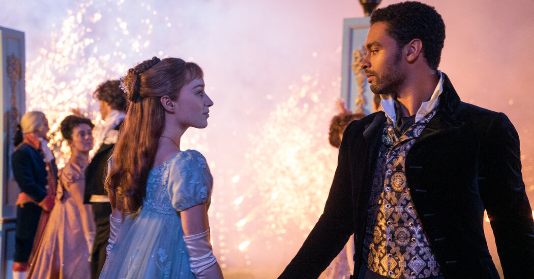 Review: 'Bridgerton' Is a Sparkly Period Piece With a Difference