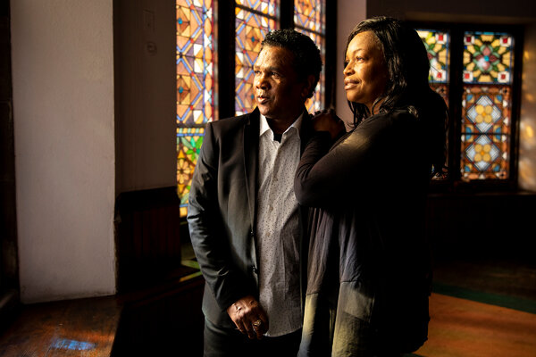 Clive and Oneita Thompson fled gang violence in Jamaica in 2004 and sought asylum in the United States.