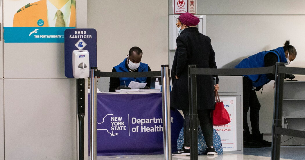 US Will Require UK Travelers to Have a Negative Coronavirus Test