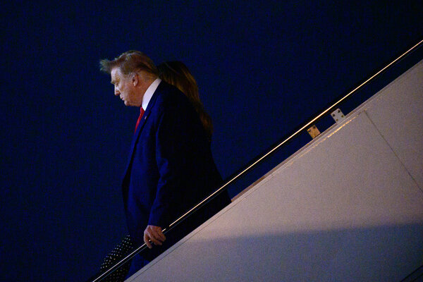 """""""We understand, Mr. President, that you're angry that you lost,"""" The New York Post told President Trump in an editorial. """"But to continue down this road is ruinous."""""""