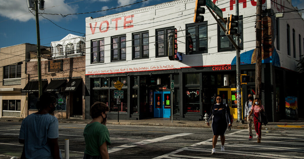 'Year of the Reveal': Runoffs Follow Pandemic, Protests and a Test of Atlanta's Promise