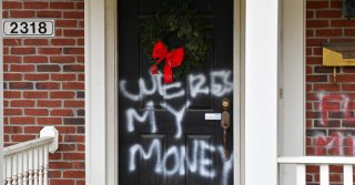 The homes of Mitch McConnell and Nancy Pelosi were reportedly vandalized.