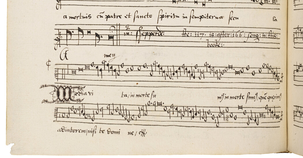 From a 1550s Pandemic, a Choral Work Still Casts Its Spell