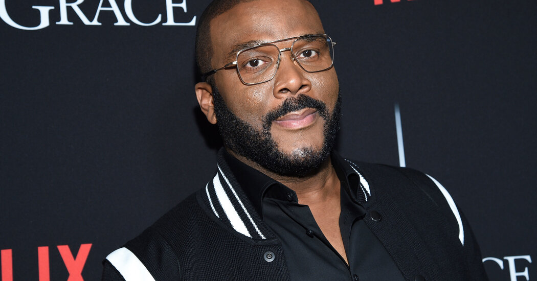 Tyler Perry Did Not Get His Absentee Ballot. So He Flew Home to Georgia to Vote