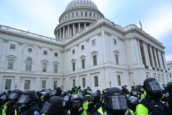 The deployment of federal agents signaled the growing alarm with which federal officials viewed the chaos swirling around the Capitol building.