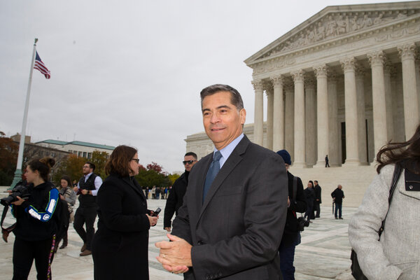 Xavier Becerra served 12 terms in Congress, representing Los Angeles, before becoming the attorney general of California in 2017.