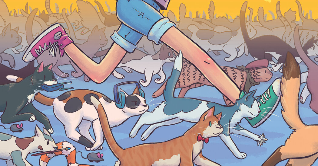 Cat Girl? A Kinder, Gentler Superhero Comic